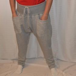 Turecké kalhoty - teplákovina